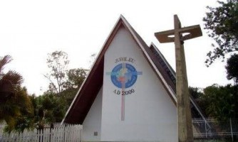 Ladrões roubaram Igreja Católica em Jauru